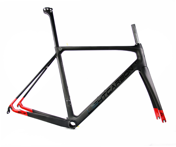 super light carbon road frame