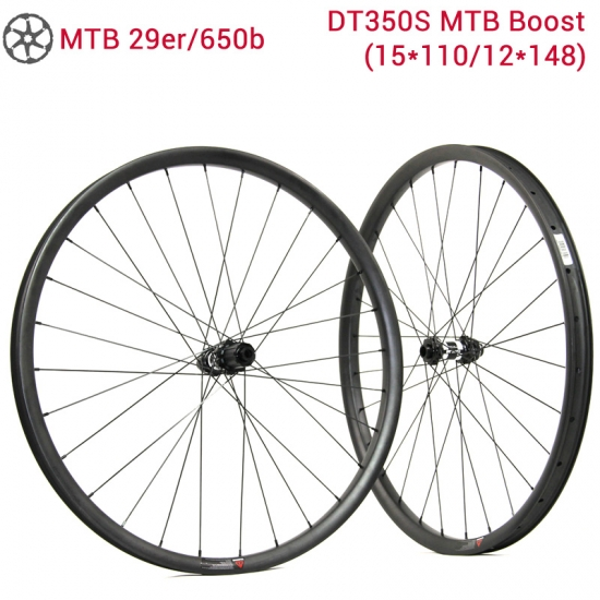 mtb boost ruote in carbonio DT350S
