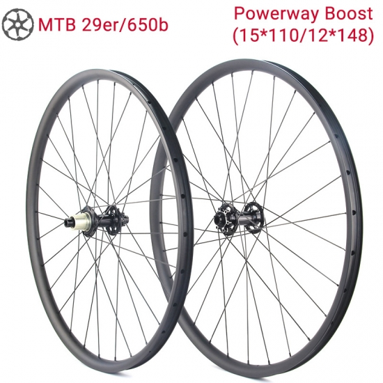 Powerway MTB a Spinta Ruote in Carbonio